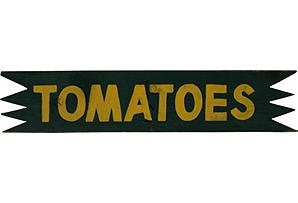 tomatoes farm stand sign wedding reception pinterest