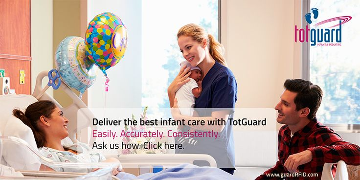 #RFID #Healthcare #Security #Infant Make sure mom-baby match is perfect. Leave nothing to chance.