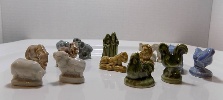Noah's Ark - Wade Whimsies - Complete Series by CleaningOutMyStudio on Etsy
