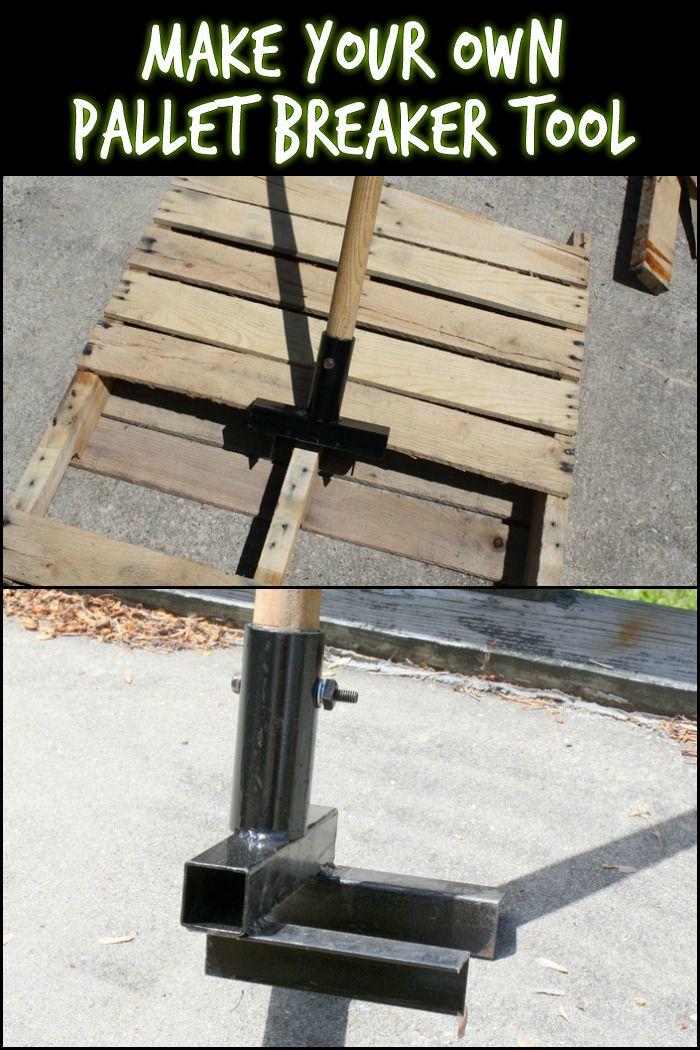 This DIY Pallet Breaker Makes Dismantling Easier and Faster