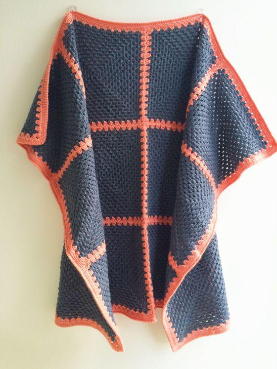 Simple Granny Square Blanket                                                                                                                                                      More