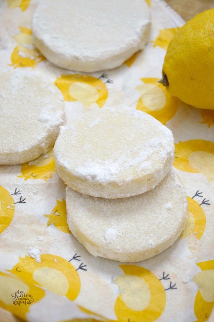 Galletas de Limón   CON HARINA EN MIS ZAPATOS