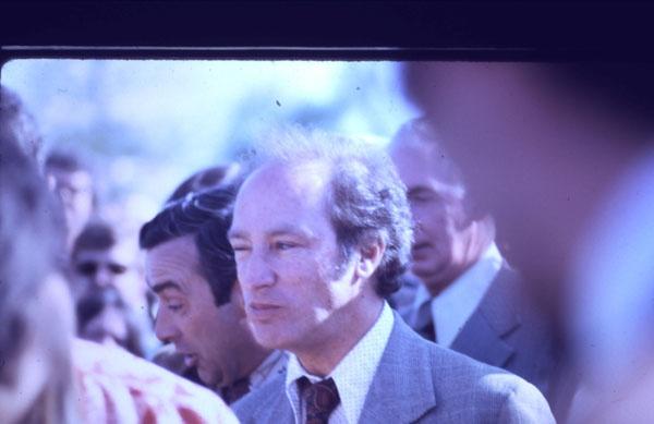 Pierre Trudeau, 1974