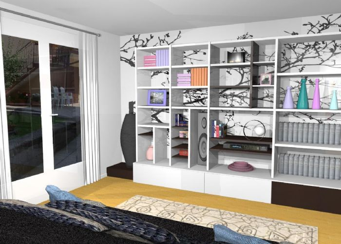 Oltre 25 fantastiche idee su carta da parati per soffitto for Parete cartongesso soggiorno