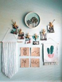 42 Fantastic Home Decor Bastelideen für den Schlafsaal