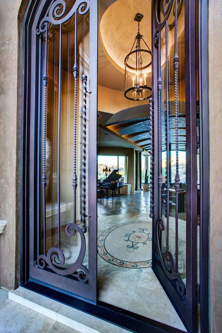 28 best Door images on Pinterest | Windows, Wrought iron doors and ...
