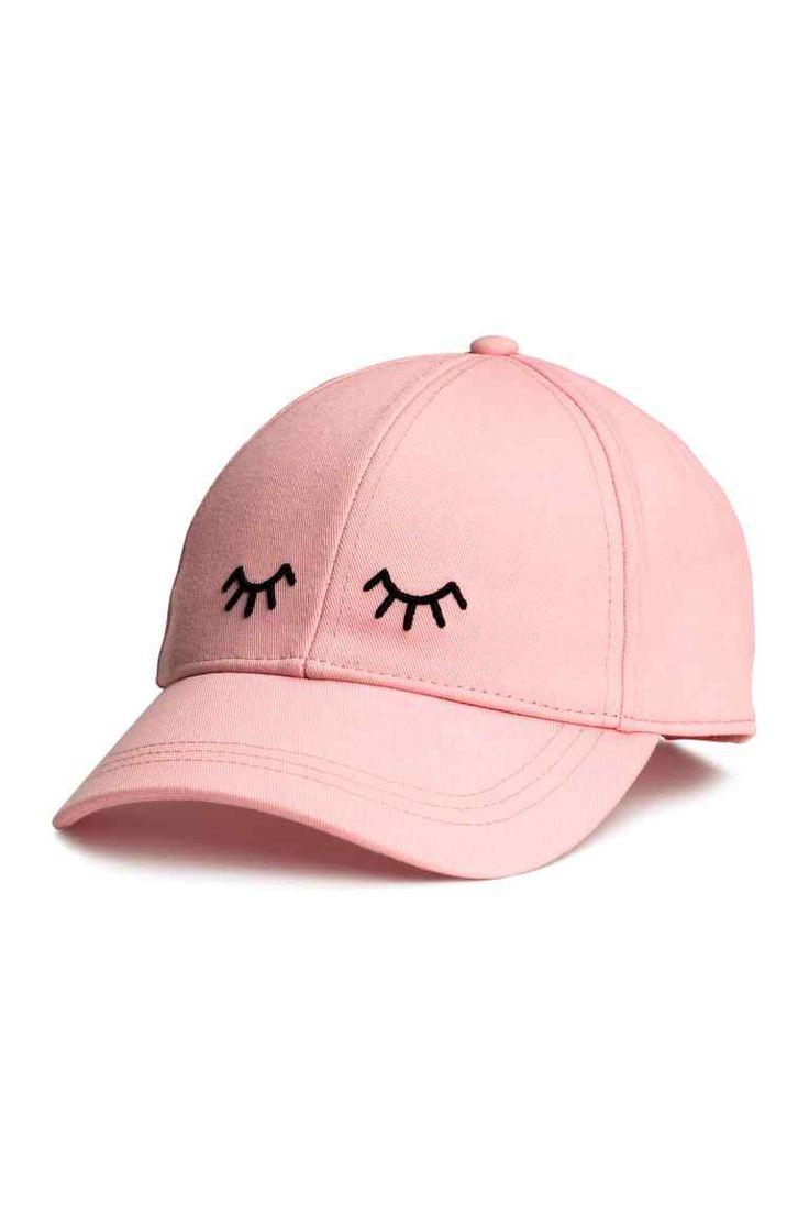 Gorra de algodón - Rosa claro - MUJER | H&M ES 1
