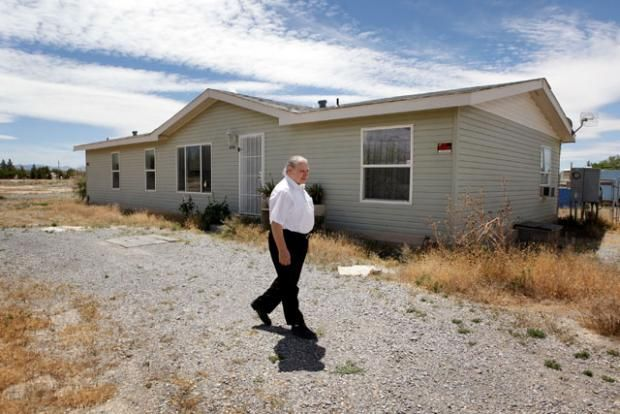 There was a third Apple founder. Ronald Wayne (pictured at home in 2010) sold his 10% stake for $800 in 1976.