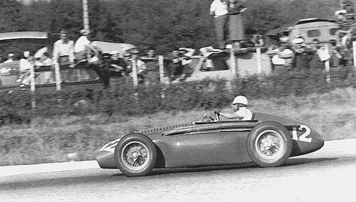 #12 Piero Carini (I) - Ferrari 553 (Ferrari 4) engine (20) Scuderia Ferrari