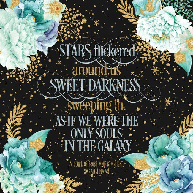 A Court Of Frost And Starlight Sarah J Maas Throw Pillow By