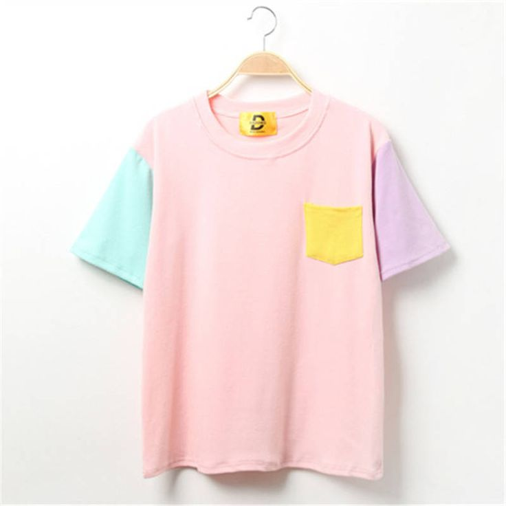 Clothing Length: Regular Sleeve Style: Regular Fabric Type: Broadcloth Material: Cotton Collar: O-Neck Sleeve Length: Short Size Table Size Shoulder (cm) Bust (cm) Length(cm) Sleeve (cm) M 45 95 60 19