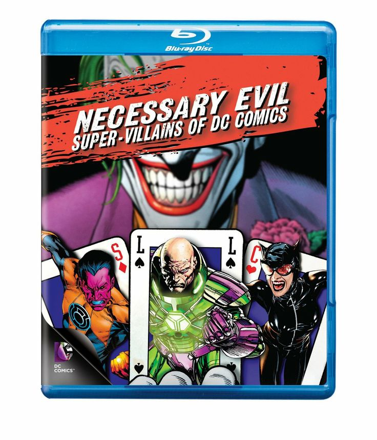 Necessary Evil: Super-Villains of DC Comics (2013) ($9.40) http://www.amazon.com/exec/obidos/ASIN/B00E4Q6U82/hpb2-20/ASIN/B00E4Q6U82 This is a very good documentary that covers ALOT of villains, some I had never even heard of. - It has great action in it as well. - It really goes into the depths of evil villains of the universe and even goes into the cross over of how the heroes become villains and vice versa.