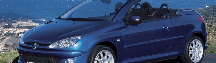 Технические характеристики Peugeot (Пежо) 206 CC (2D) 2.0-16V 2 дв. кабриолет 5МКПП 2001-2005 г.
