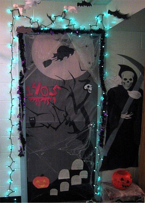 Best Halloween Dorm Ideas On Pinterest Halloween Door - Decoration dorm door decorating ideas with pink walls dorms dorm door