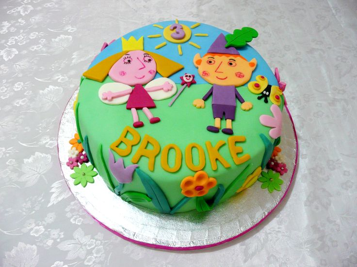 Ben & Holly Little Kingdom Cake