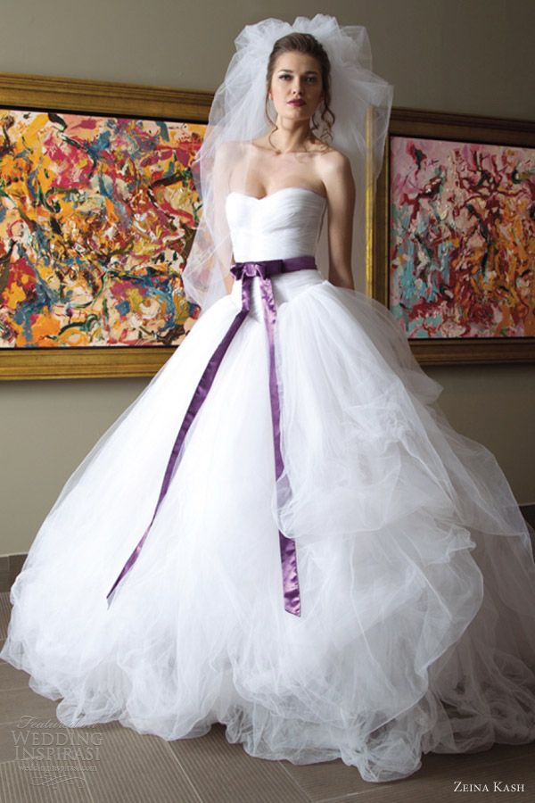 Zeina Kash Wedding Dresses 2013