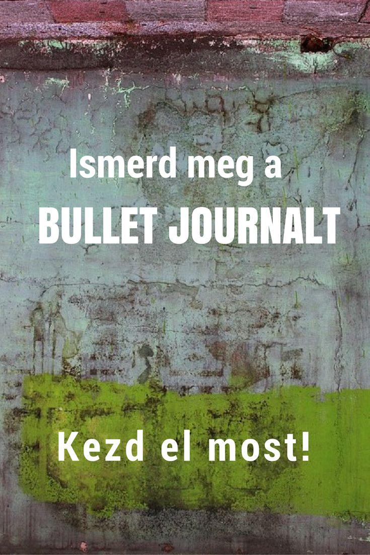bullet journal | magyar ismertető | kezdet | kezd el az alapokkal