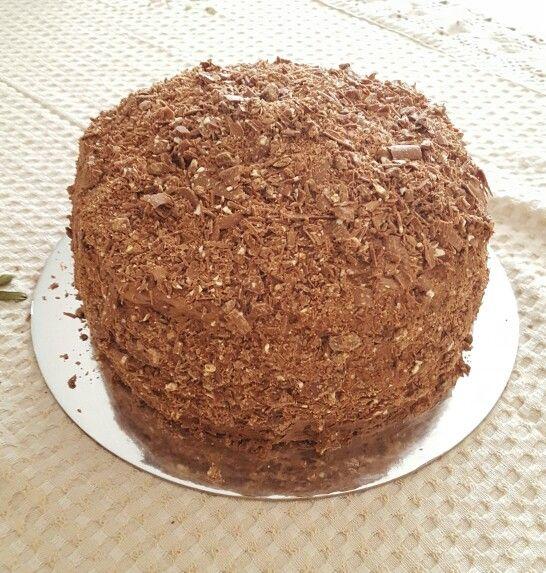 Chocolate Toblerone Cake