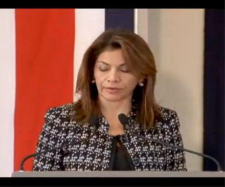 Laura Chinchilla nombra a Ana Isabel Chamorro como la nueva Ministra de la Mujer