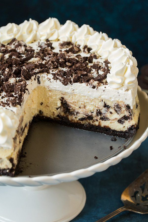 Cookies and Cream Cheesecake | Cooking Classy
