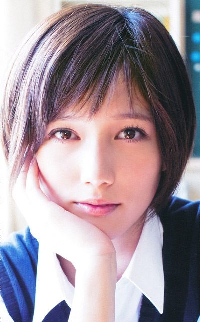 Natural Makeup & Short Hair. Tsubasa Honda.