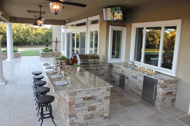 Have you always dreamed about an outdoor kitchen? Make it a reality at an MBS Interiors showroom www.mbsinteriors.com/