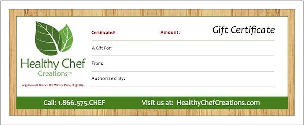 Healthy Food Delivery Program | Gourmet Meal Delivery Service | Healthy Chef Creations