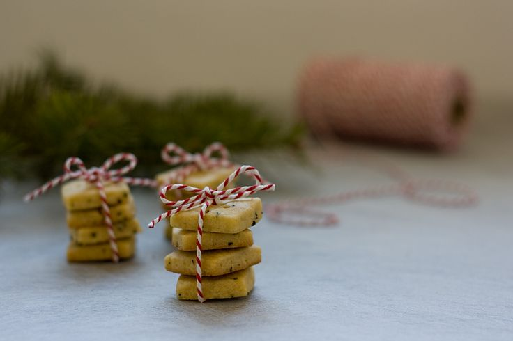 Rosemary Shortbread for Christmas by Jessica's Dinner Party