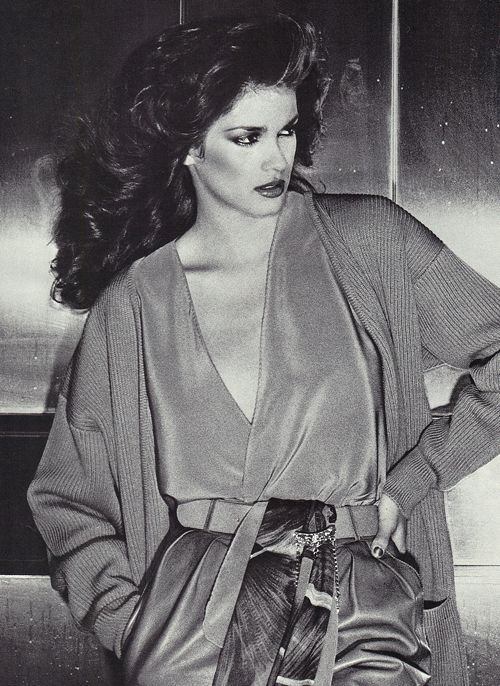 "GIA 1979 chris von wangenheim.  Model whose life was portrayed in the movie ""Gia"" played by Angelina Jolie.  Such a beauty whose life ended too early from drugs and Aids."