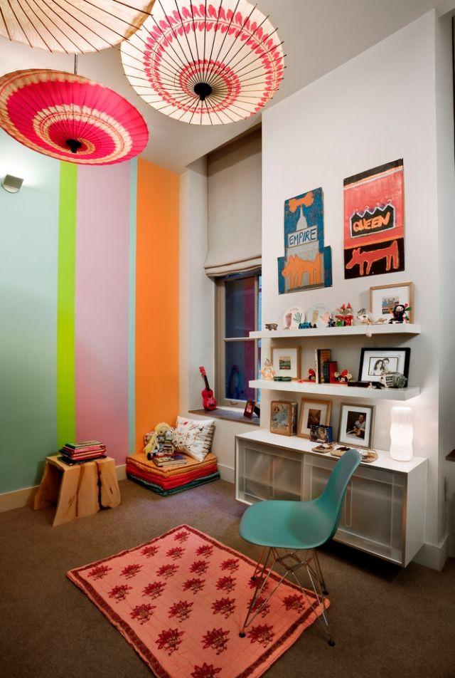 Ideen Für Wand Streifen U2013 Ein Beliebtes Designelement Zuhause #wanddesign  #wandfarbeideen #wohnzimmerideen