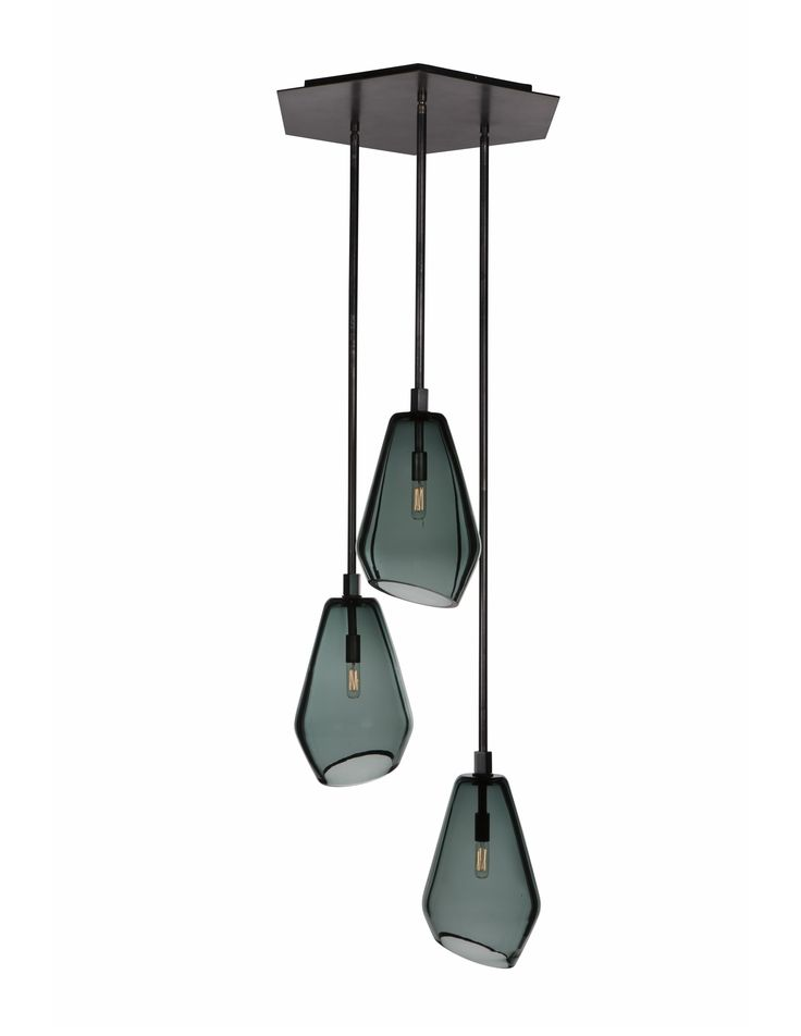 Buy Muse Hex by Zia-Priven - Made-to-Order designer Chandeliers from Dering Hall's collection of Contemporary Industrial Transitional Organic Lighting.