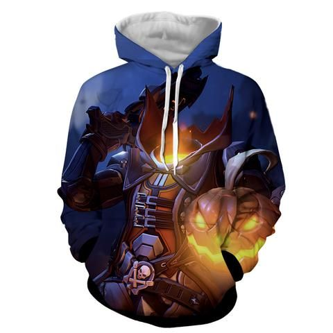 Overwatch Reaper Pumpkin Head Halloween Dope Design Hoodie    #Overwatch #Reaper #Pumpkin #Head #Halloween #Dope #Design #Hoodie