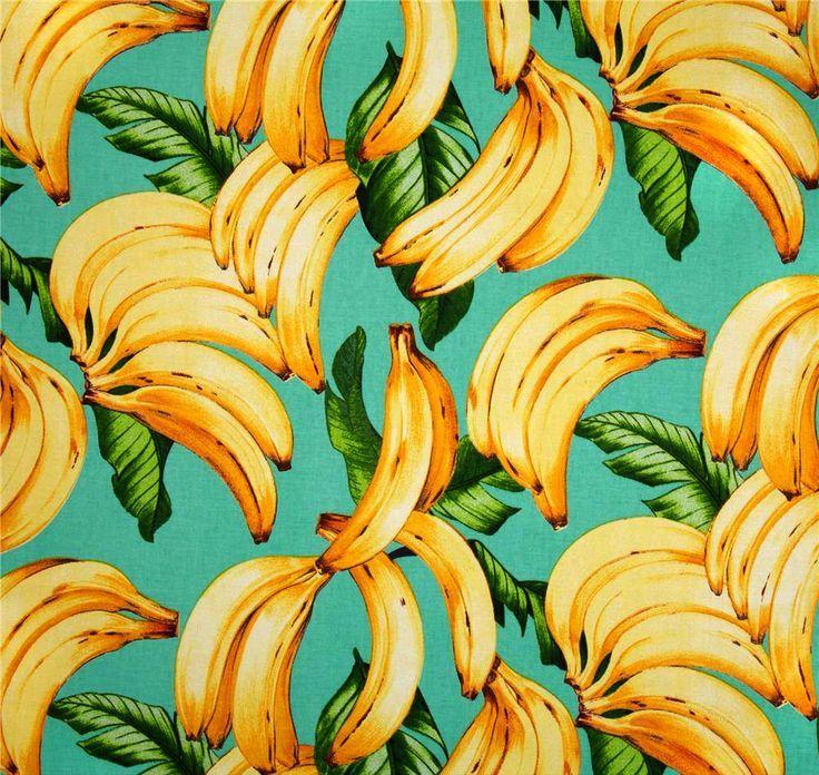 Tropicana Style // Tropical Palms + Pineapples // Art Design // Prints + Decor // Fashion // Summer Fun // Bananas