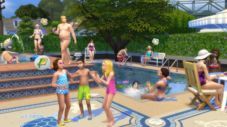 New The Sims 4 patch introduces swimming pools (and drowning)  #thesims4 #pc #gaming #news #vgchest