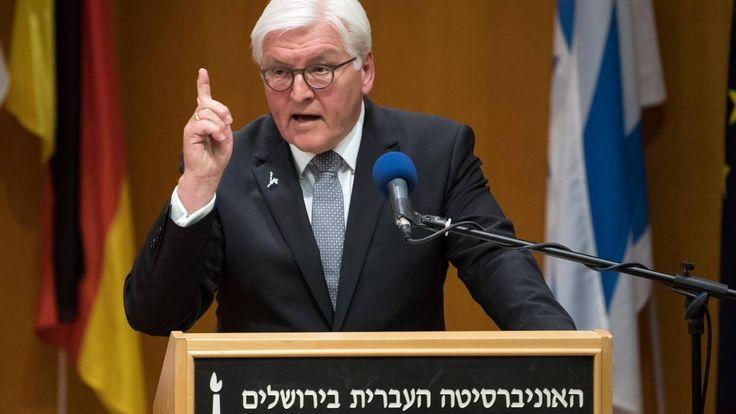 Bundespräsident: Steinmeier erteilt Israel geschickt Lektionen in Meinungsfreiheit | STERN.de