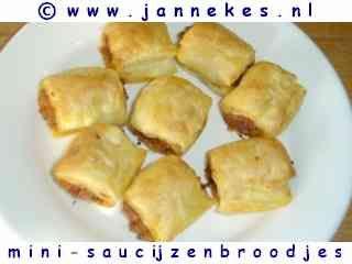 Mini Italiaanse Saucijzenbroodjes - Janneke's Receptenpagina