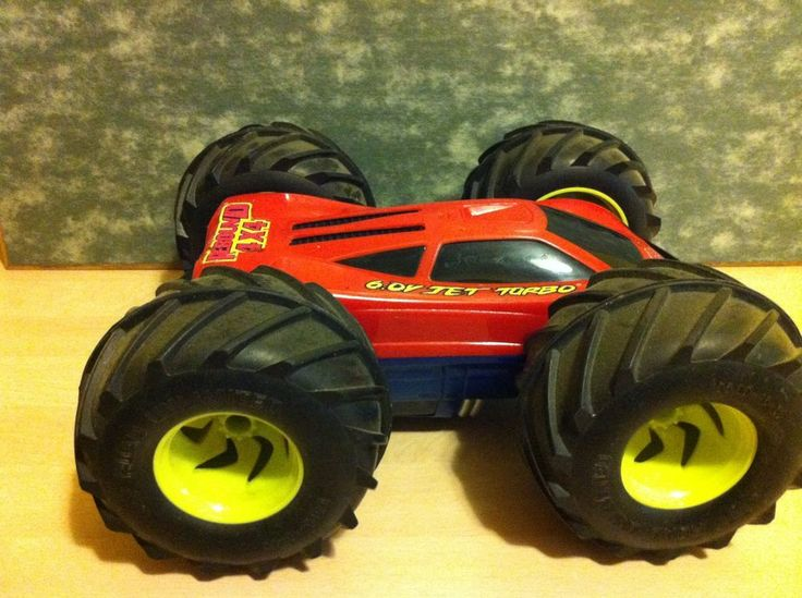Tyco Rc Rebound 4x4 6 0 V Jet Turbo Remote Controlled