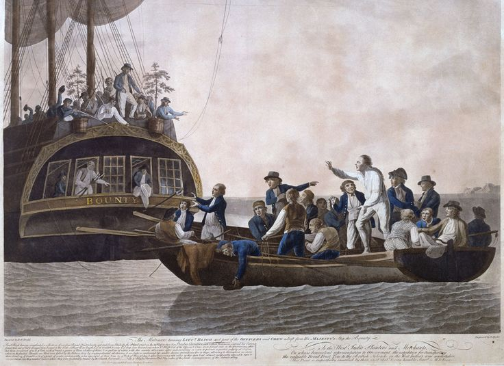 Aftermath of the Bounty Mutiny http://www.historyuncaged.com/aus/bounty  #History