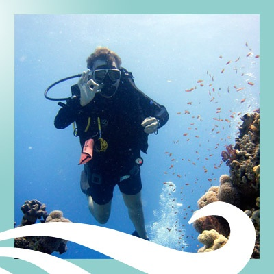 No scuba diving since we had kids - it's time to reclaim our spare time! #JRDutyFreePin2Win #ClubMedBali #diving