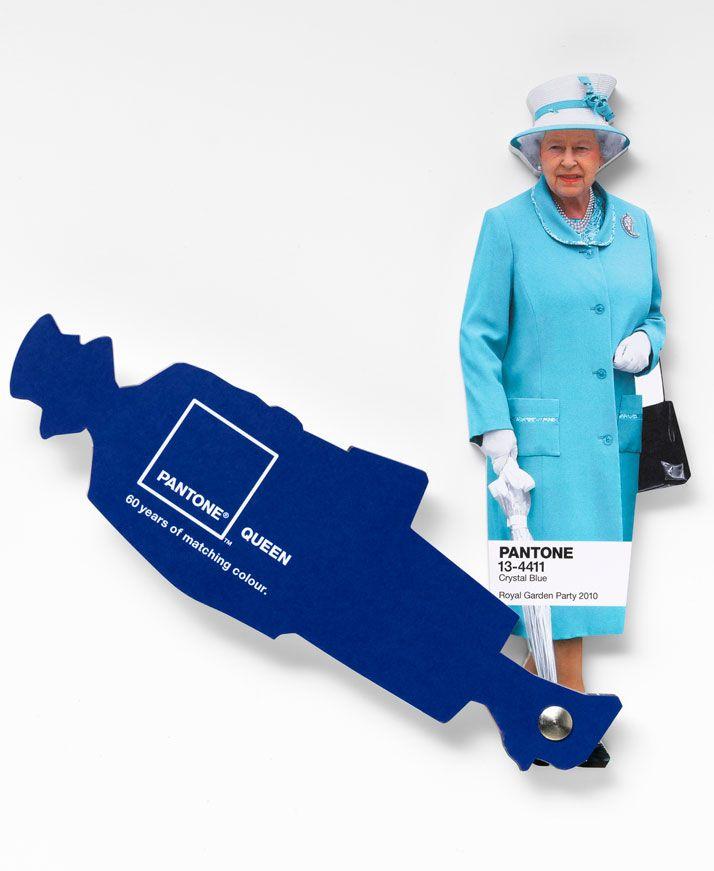 The Queen And The Pantone: Diamond Jubilee, Color, Queens, Colour Guide, The Queen, Leo Burnett, Queen S