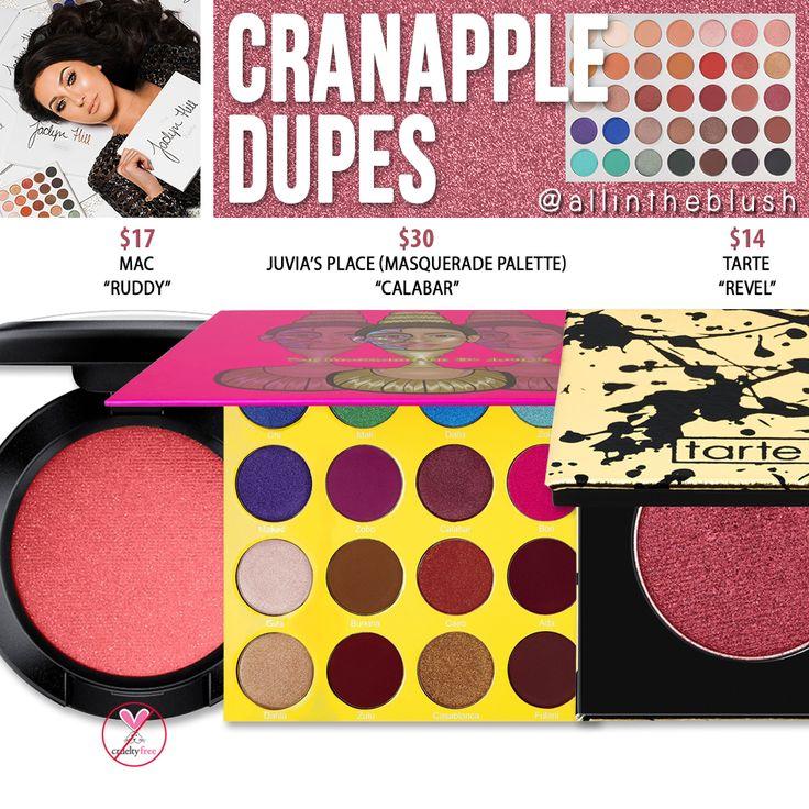 Morphe x Jaclyn Hill Cranapple Eyeshadow Dupes [The Jaclyn Hill Palette]