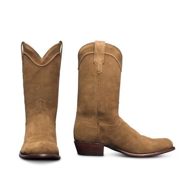 78b1bf7c4b3 The Shane | A Handmade, Waterproof Suede Roper Boot | Tecovas ...