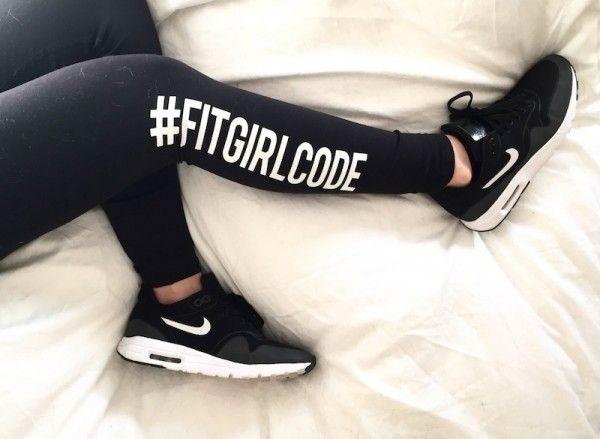 De meiden van #FITGIRLCODE laten vier oefeningen zijn voor strakke benen