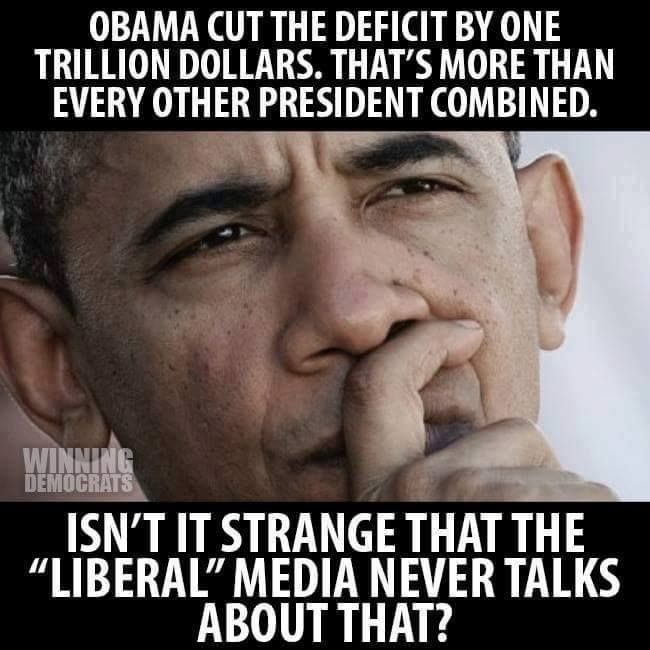 President Obama did lots of good things and gets zero credit!!!