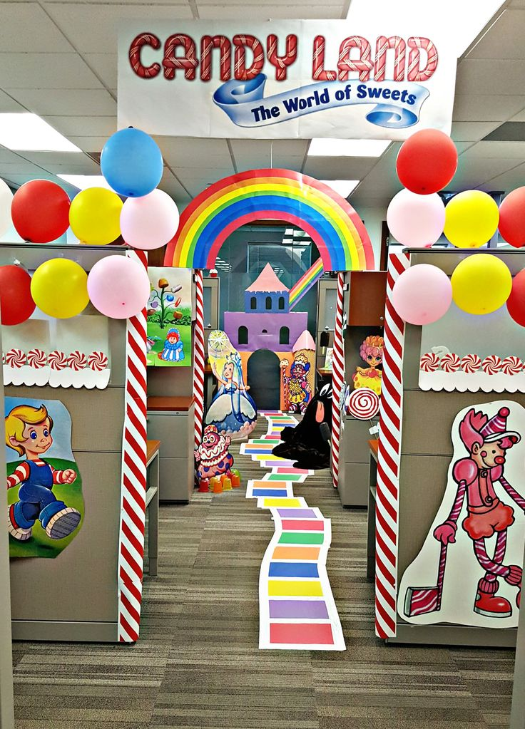 Candyland Office Decorations Theme Halloween Decorations