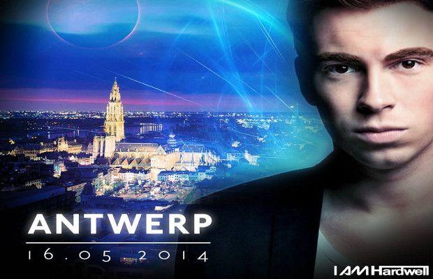 Hardwell 16-05-2014 Sportpaleis Antwerp