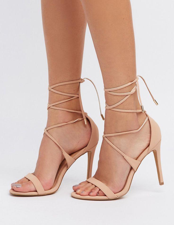 Lace-Up Dress Sandals | Charlotte Russe