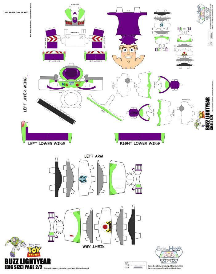 Papercraft buzz leclair de steven ykt paper toys papercraft papercraft buzz leclair de steven ykt paper toys papercraft and template pronofoot35fo Gallery