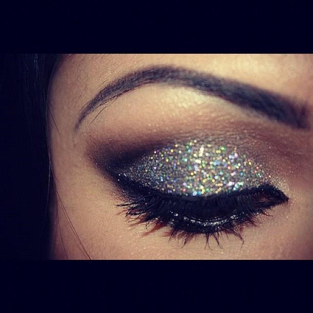 Really nice sparkle makeup prom?