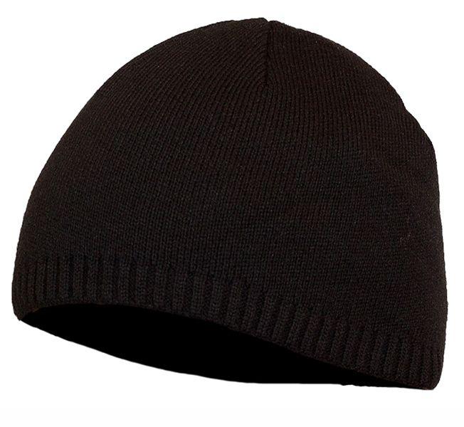 Чёрная шапочка из флиса с малой резинкой – очередной образец аксессуара, обеспечивающего комфорт и тепло в осенне-зимний период. В ассортименте интернет-магазина-военторг «Военпро» есть несколько подобных моделей мужских шапочек, отличающихся лишь дизайном – вопрос выбора здесь лишь дело вкуса.-300руб.